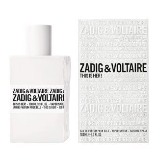 בושם לאישה זאדיג דיס איז הר א.ד.פ ZADIG & VOLTAIRE THIS IS HER 100 ML E.D.P