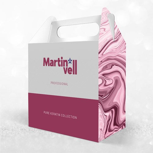MARTIN VELL PURE KERATIN COLLECTION ערכת טיפוח לשיער מרטין ול